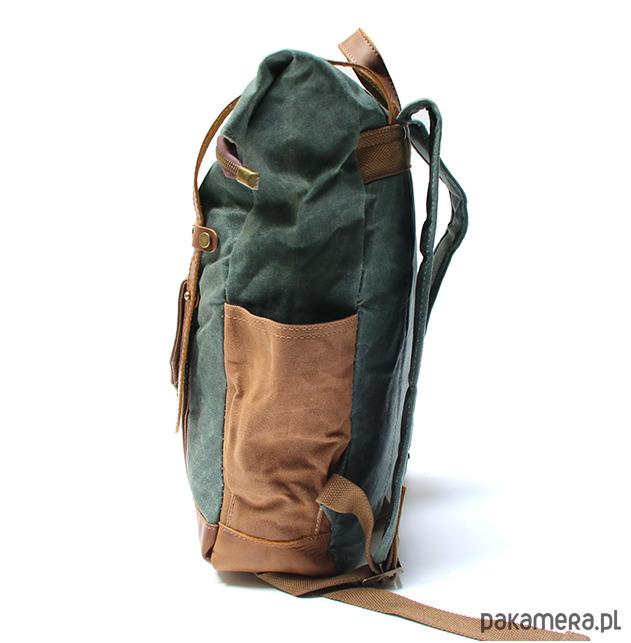 084f7237520c0 P5 VINTAGE MARK I™ Plecak unisex płótno skóra - plecaki - Pakamera.pl