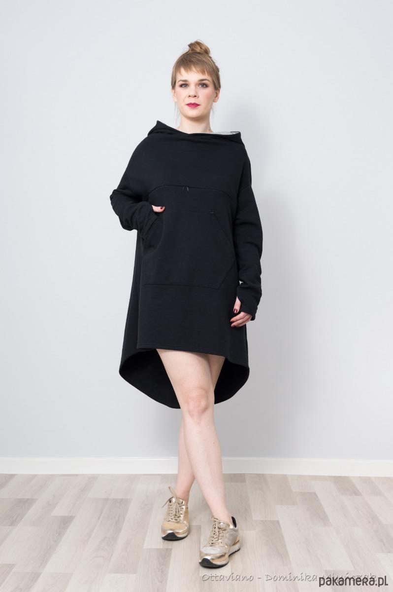 11f505a88 Bluza Sukienka Miłosny Trójkąt oversize - bluzy - Pakamera.pl