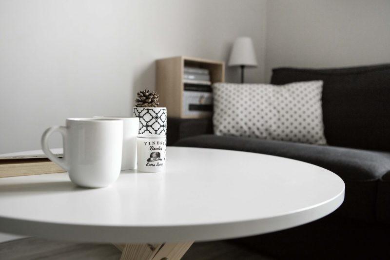 stolik kawowy okr�g�y w stylu skandynawskim 68 meble