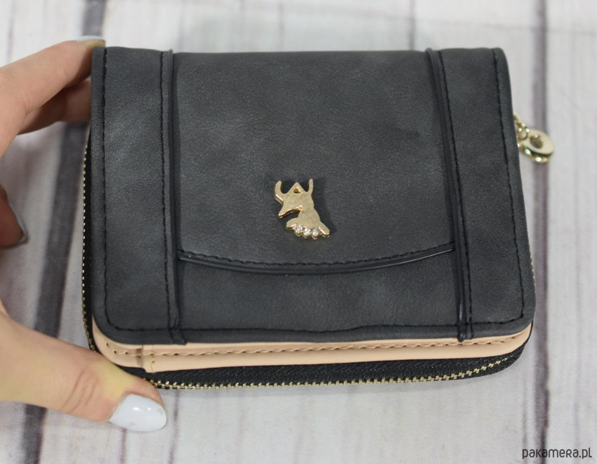b9ef194383491 PORTFEL damski JELEŃ MATOWY mały pojemny - portfele - damskie ...