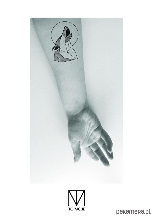 Tatuaż Zmywalny Wilk Tatuaże Pakamerapl