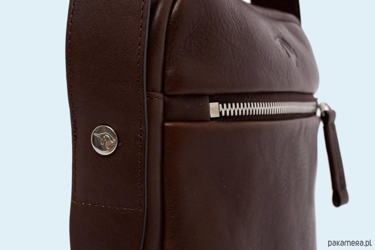 bf8ed0e380690 Nonconformist Messenger small bag brown - akcesoria - torby i nerki ...