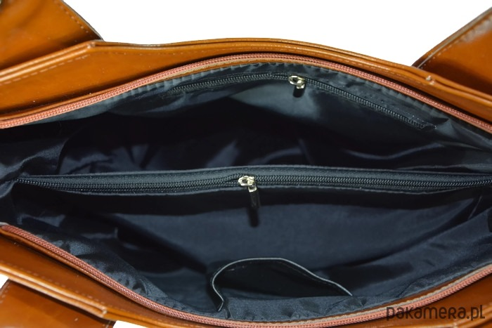 26d1011a7a826 Brązowa skórzana torebka shopperka DAN-A - torby na ramię - damskie ...
