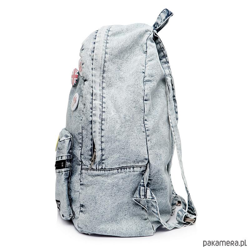 cc6386b4515b8 Plecak worek damski vintage jeansowy ST05 - plecaki - Pakamera.pl