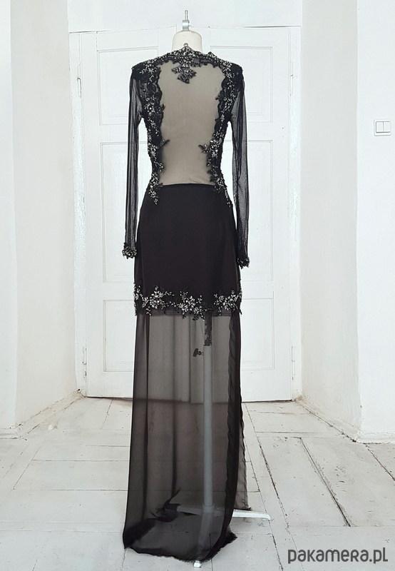 Sukienka jedwabna Hally - sukienki - maxi - Pakamera.pl