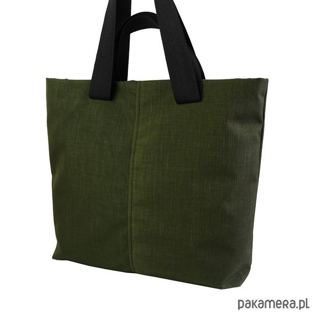b7dc1637e1c4f SHOPPER BAG 02 torba na ramię czarny zamek - torebki różne - damskie ...
