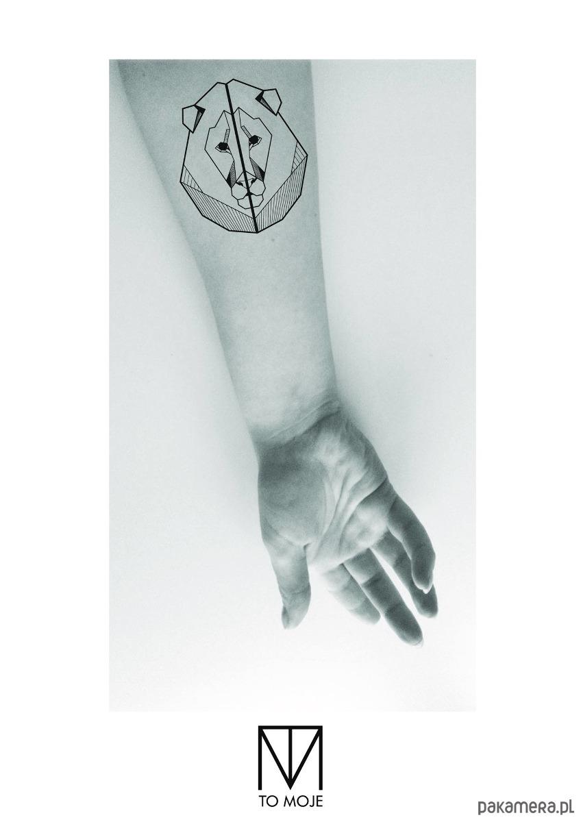 Tatuaż Zmywalny Lew Tatuaże Pakamerapl