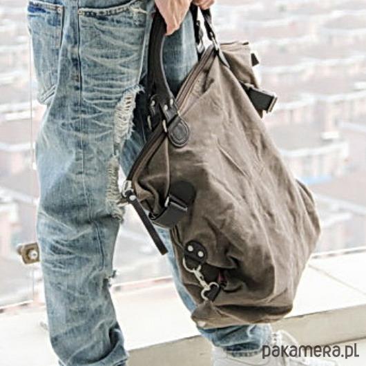 f173f4ade955e TD9 KOUKO™ Torba na ramię płótno - skóra eco - torby na ramię ...