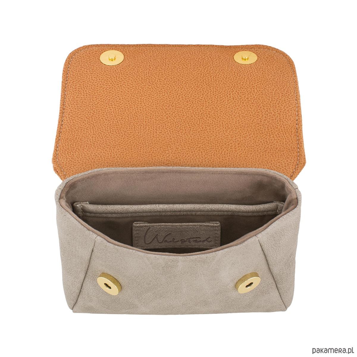 abde2dfa5e16b Waisted Small pomarańczowa torebka na biodro - nerki - damskie ...