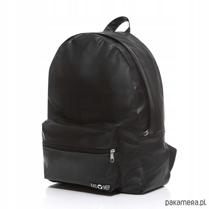 b36608e174bff Plecak damski skórzany czarny Black Sheep - plecaki - Pakamera.pl