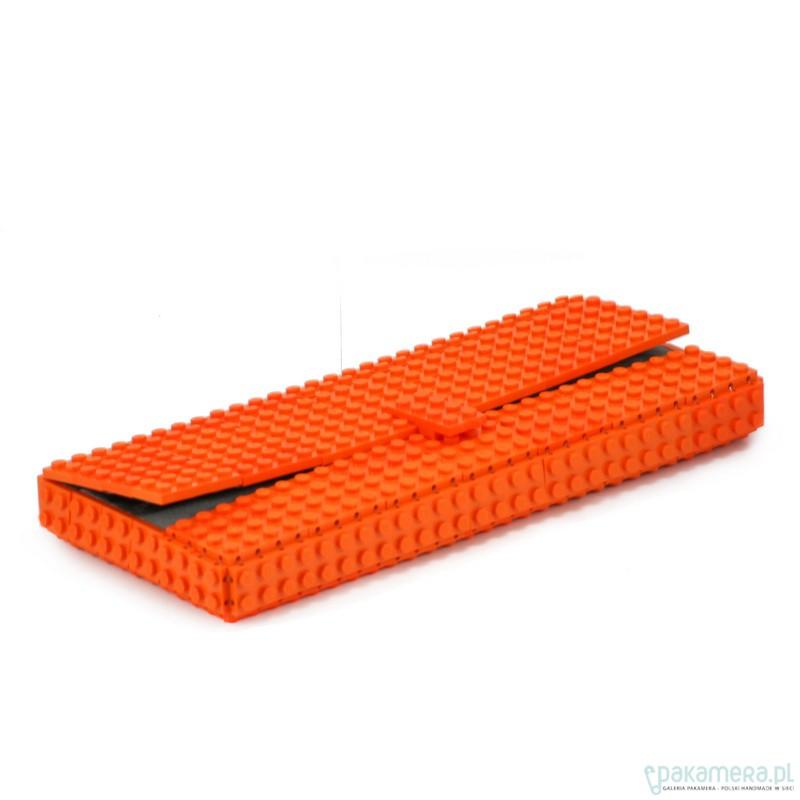 edce1cb2281a8 Pomarańczowa kopertówka z klocków LEGO® Pomarańczowa kopertówka z klocków  LEGO® ...