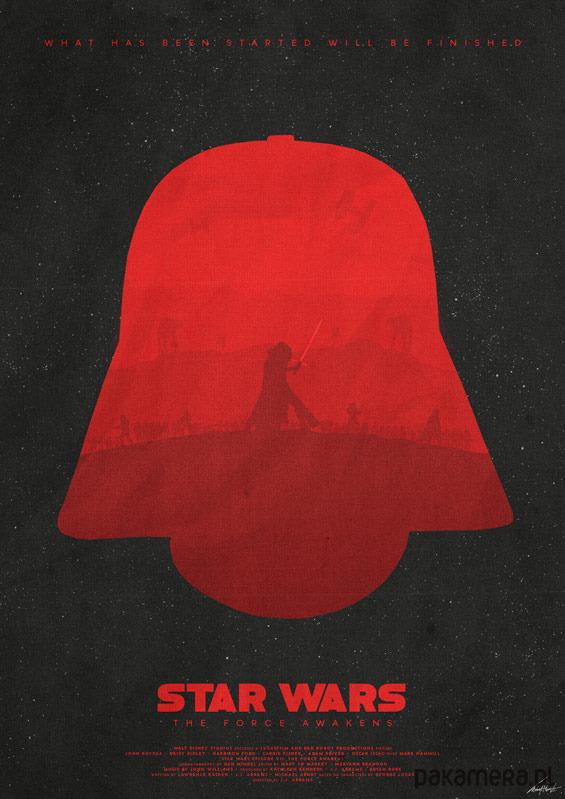 Star Wars - Darkness - Przebudzenie Mocy -plakat - Pakamera.pl