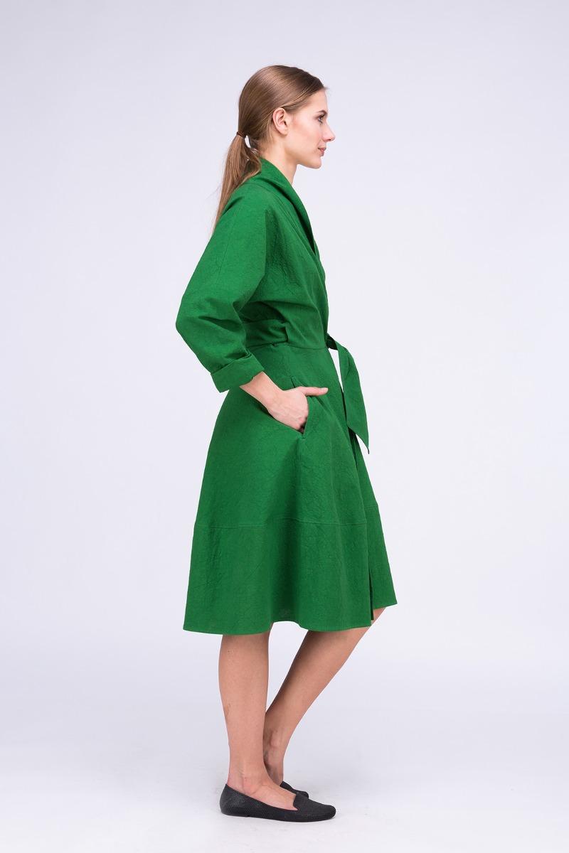 e2bb58b619db Sukienka- Płaszcz POLARIS Zielony Sukienka- Płaszcz POLARIS Zielony ...
