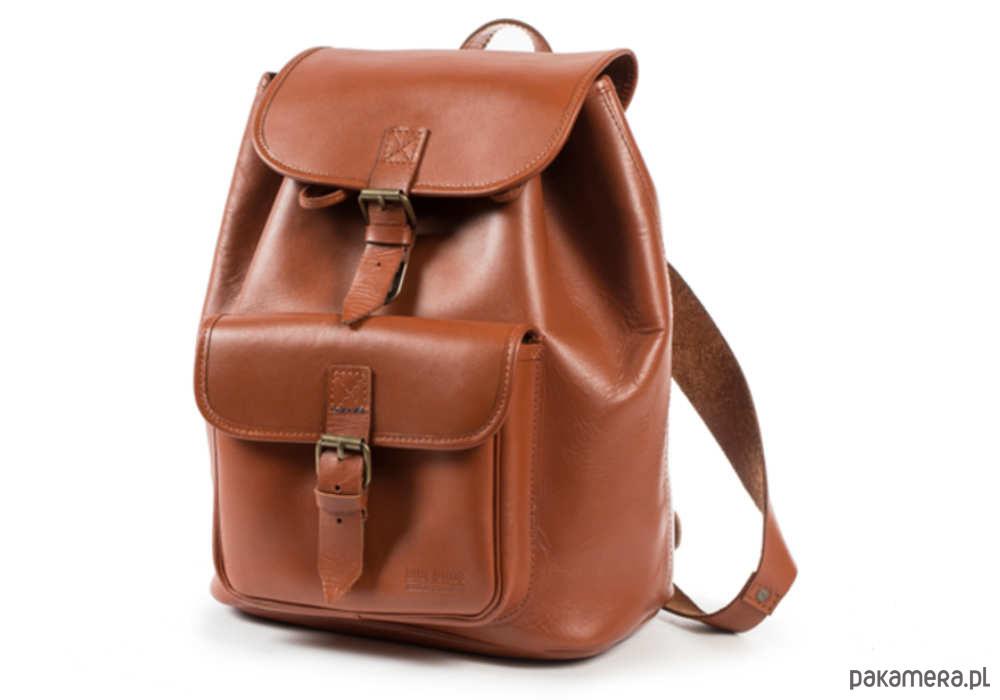 678f0f2b61165 Plecak skórzany ręcznie szyty karmelowy A4 Plecak skórzany ręcznie szyty  karmelowy A4 ...