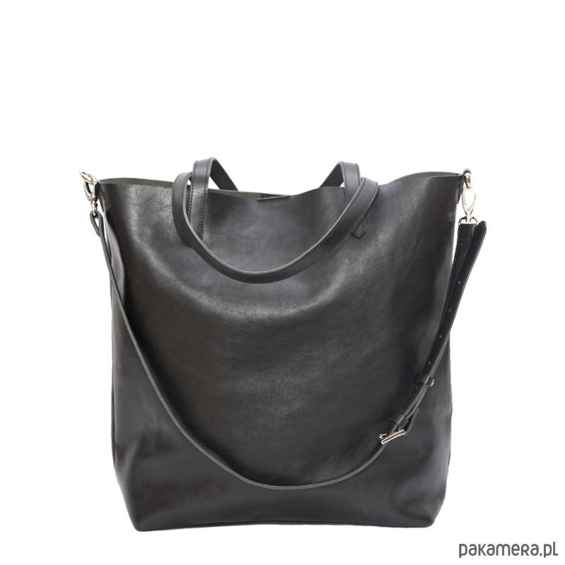 9e56aa8585c62 Sofija - duża skórzana torba z długim paskiem - torby na ramię ...
