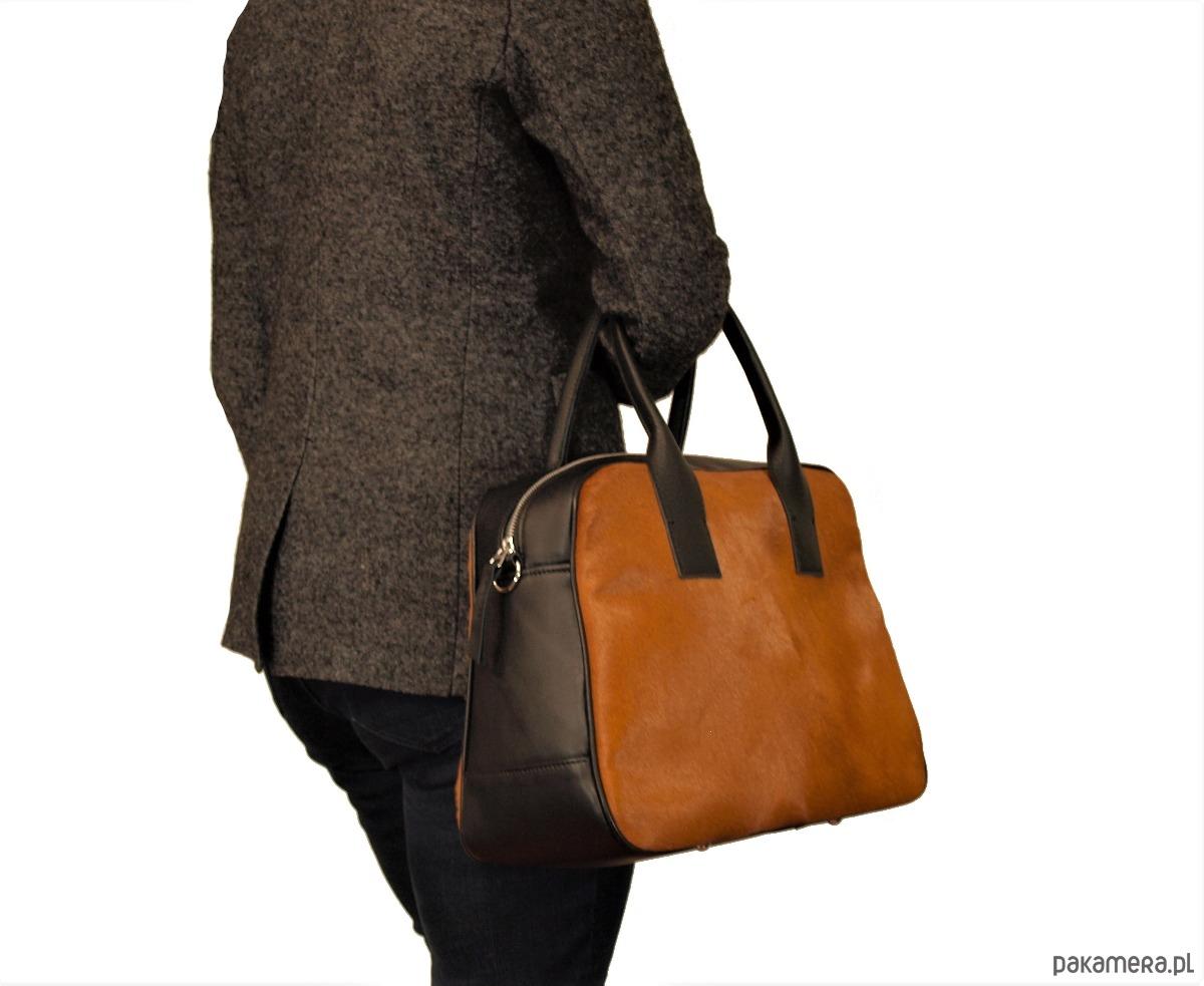 79c2706b6eb6a klasyczna torba damska bowling - torby na ramię - damskie - Pakamera.pl