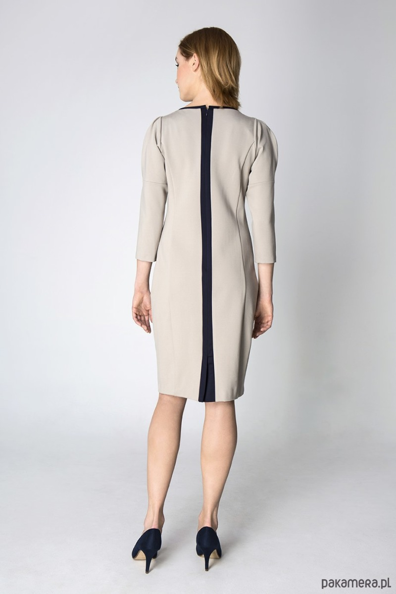 39fc6cae45 Sukienka Lady Gray - Darksus Business Class - sukienki - midi ...