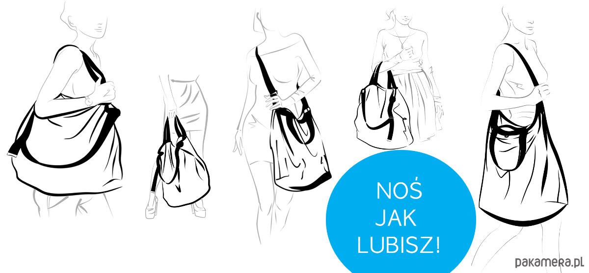 53d5a45c900b5 Dwustronna Torba TWIN Black Lust - torby XXL - damskie - Pakamera.pl