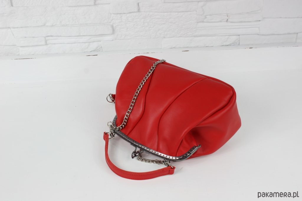 bd4d2dd3e217a Skórzana Filipina czerwony L/D - torby na ramię - damskie - Pakamera.pl