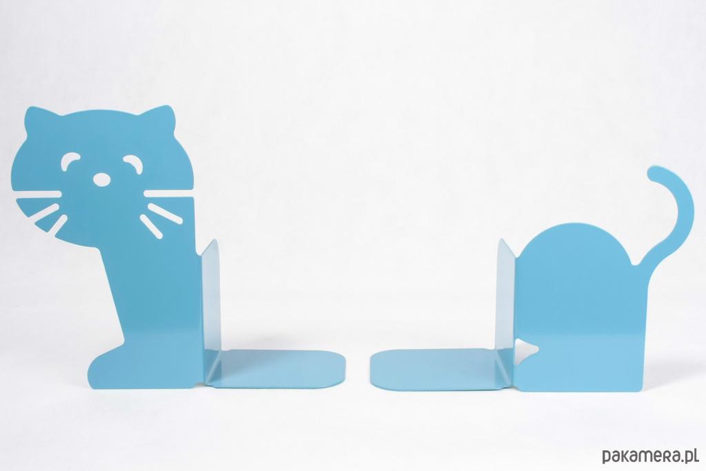 Podpórka Do Książek Kot Niebieski Pokój Dziecka Różne Pakamerapl