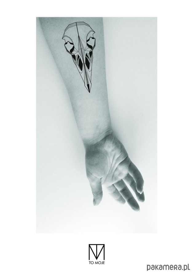 Tatuaż Czaszka Ptaka Tatuaże Pakamerapl