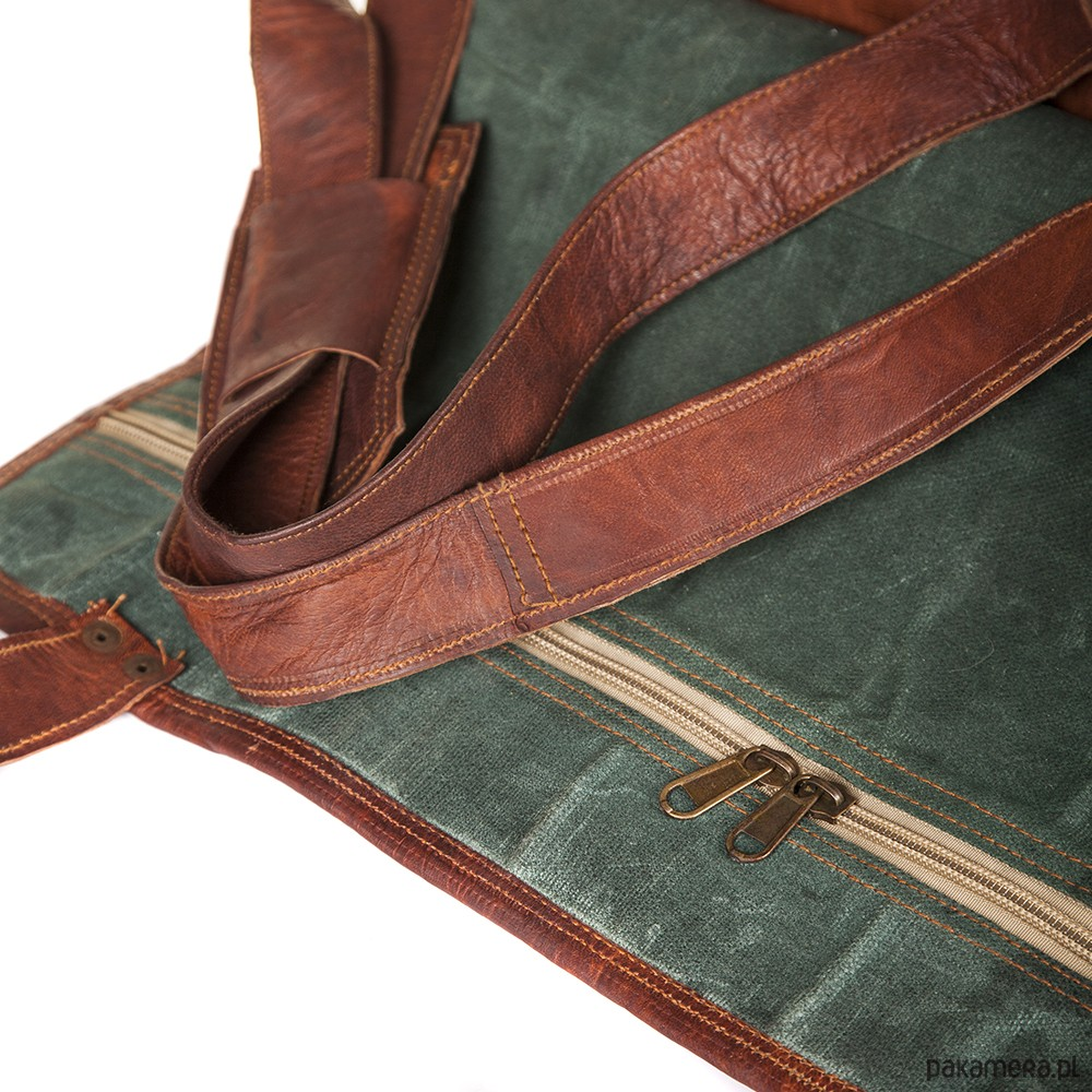 ac0efee46fb9f Skórzana torba podróżna ZADRA BAG - torby podróżne - Pakamera.pl