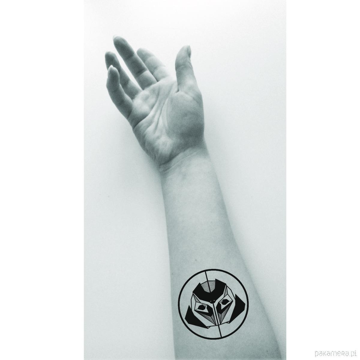 Tatuaż Zmywalny Mops Tatuaże Pakamerapl