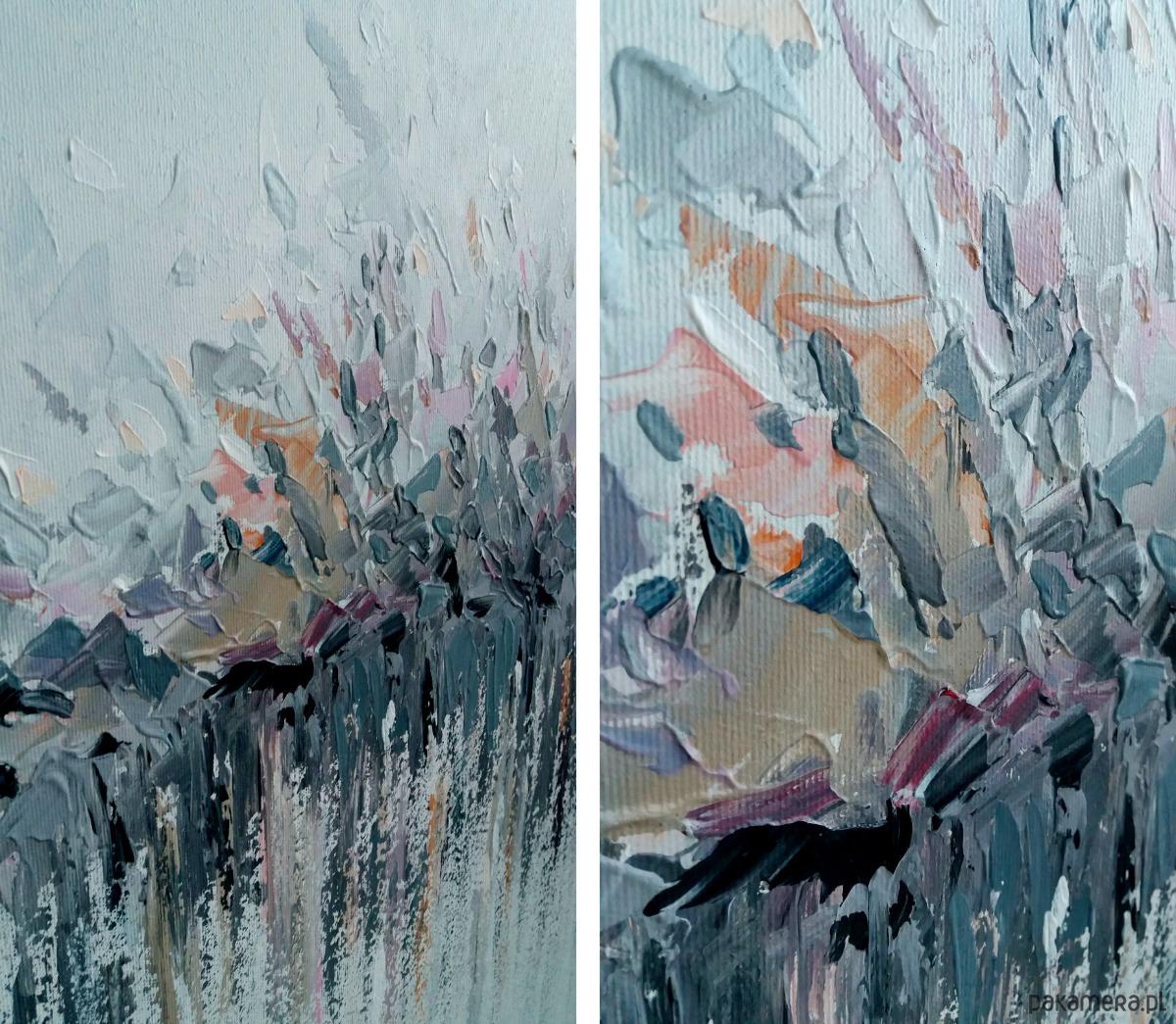 Malarstwo Obraz 100x100 Cm Farby Akrylowe Malarstwo Pakamerapl