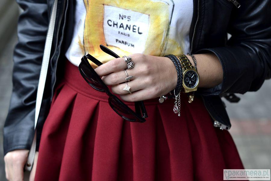 a856257fe Przesiąknij mną Chanel - bluzki - t-shirty - damskie - Pakamera.pl