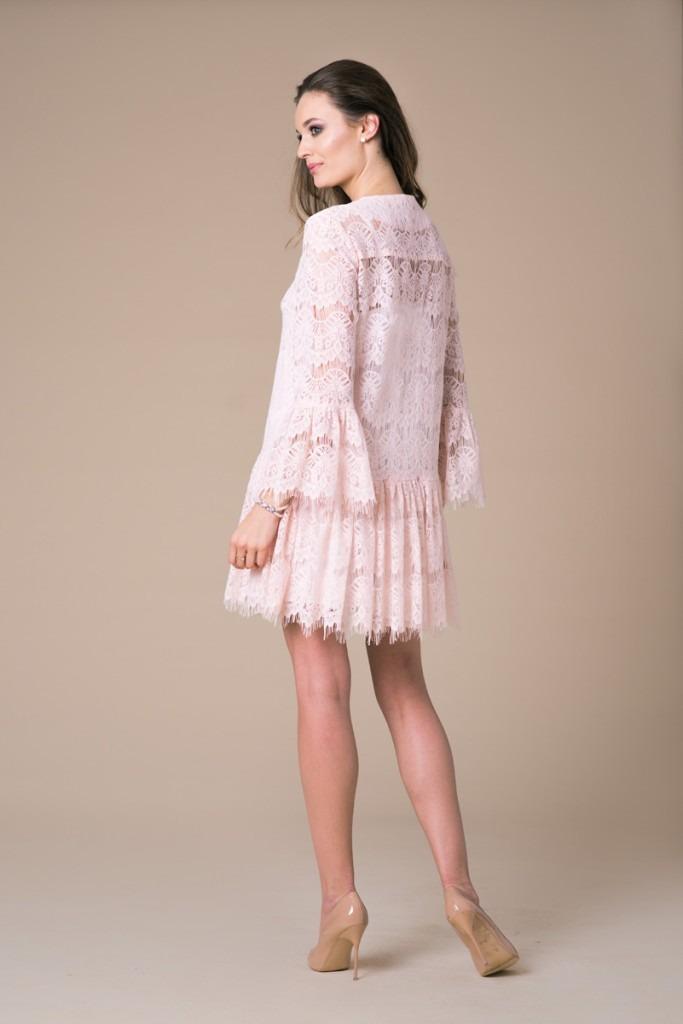 34ab1b725d Koronkowa sukienka Kate Pink Lace Koronkowa sukienka Kate Pink Lace ...