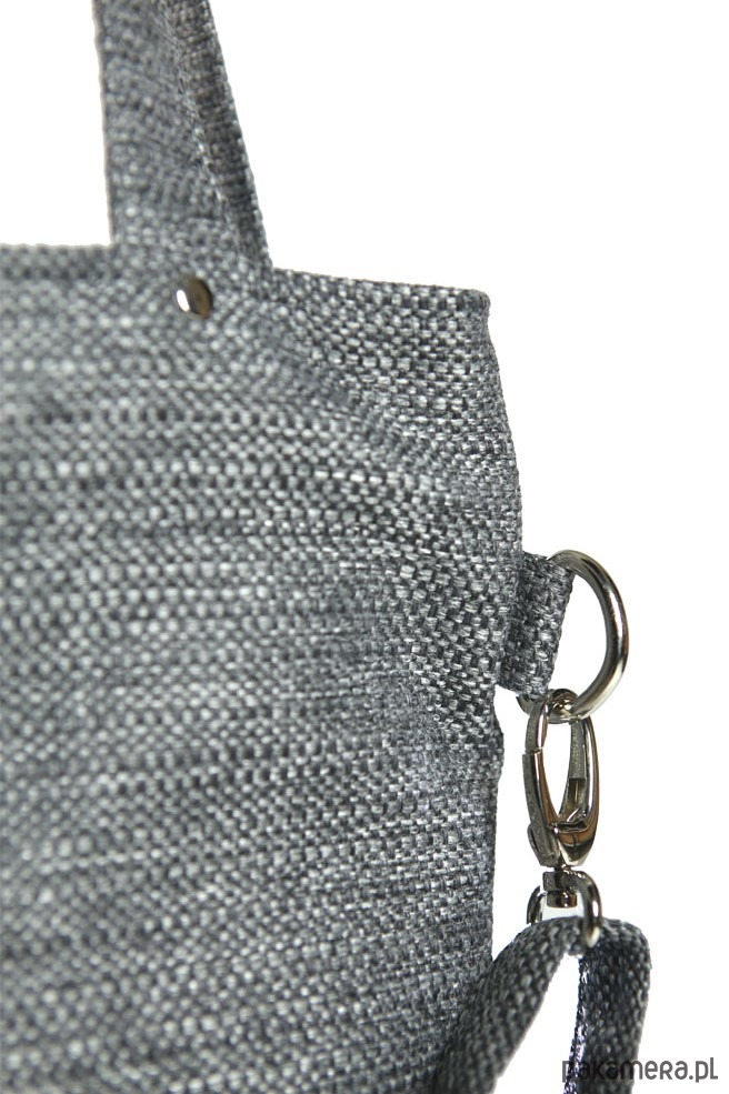 e228c02136945 Szara prostokątna torebka do pracy A4 - torby na ramię - damskie ...