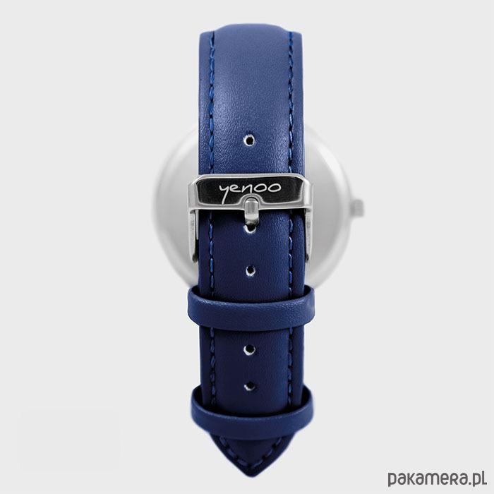 Góra Zegarek - Papuga czerwona - granatowy - zegarki - damskie MK18