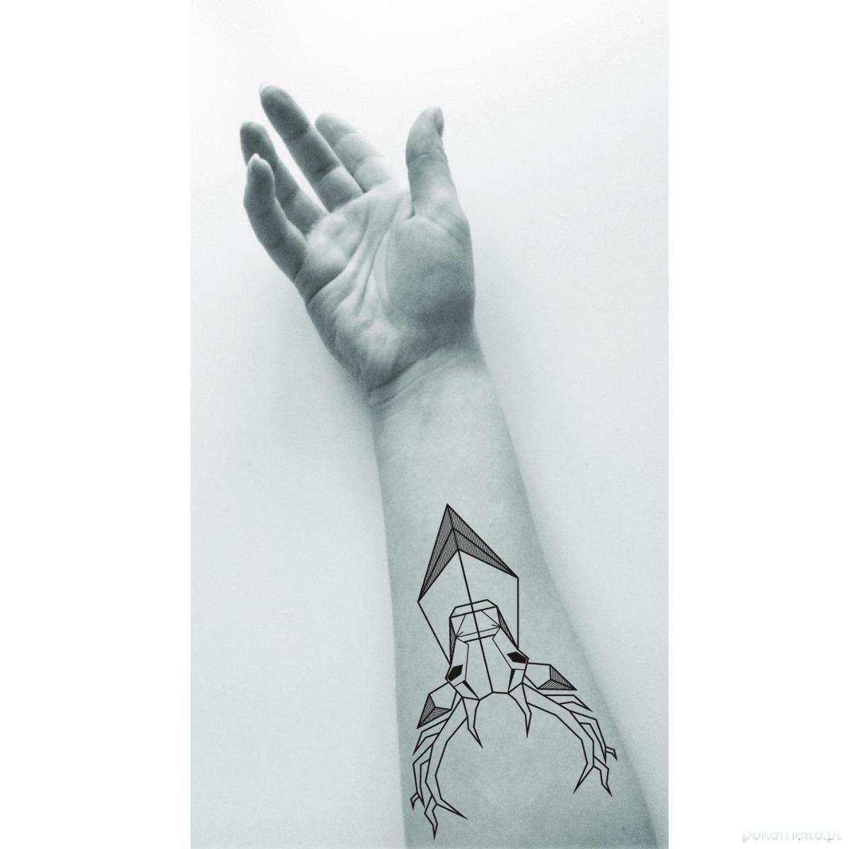 Tatuaż Zmywlany Jeleń Tatuaże Pakamerapl