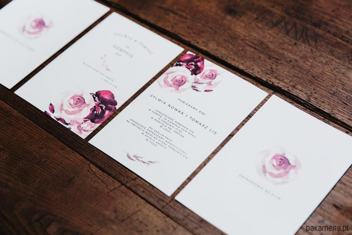 Secret Garden Zaproszenia Na ślub ślub Zaproszenia Kartki