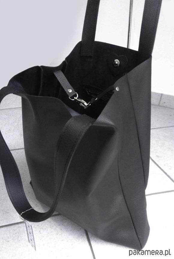 b625ac5feabf1 Skórzany worek XL - torby na ramię - damskie - Pakamera.pl