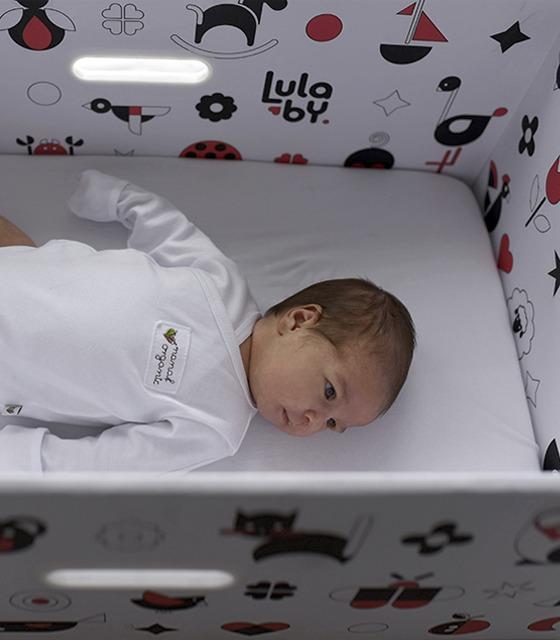 Wspaniały Baby Box - bezpieczne łóżeczko dla niemowląt - pokój dziecka OC95