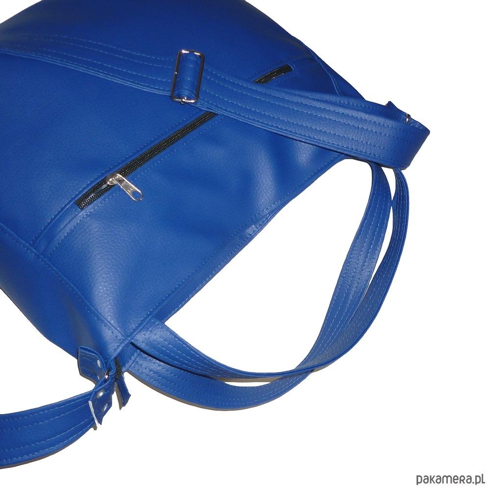 77b28d93183d2 Granatowa torba 3w1, granatowa torebka worek - torby na ramię ...