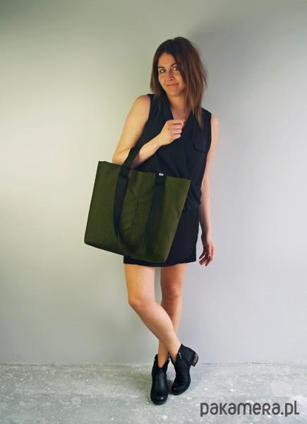 59eca021f2809 SHOPPER BAG 02 torba na ramie zolty zamek - torby na ramię - damskie ...