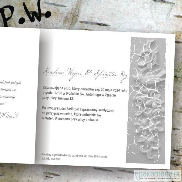 ślubne Zaproszenia W Stylu Vintage ślub Zaproszenia Kartki