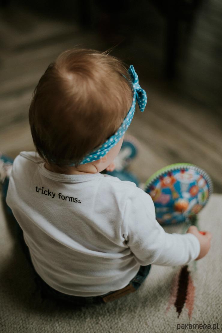 7ab4b5038b0aff LaLa - białe body dziecięce z długim rękawem - niemowlak - body i ...