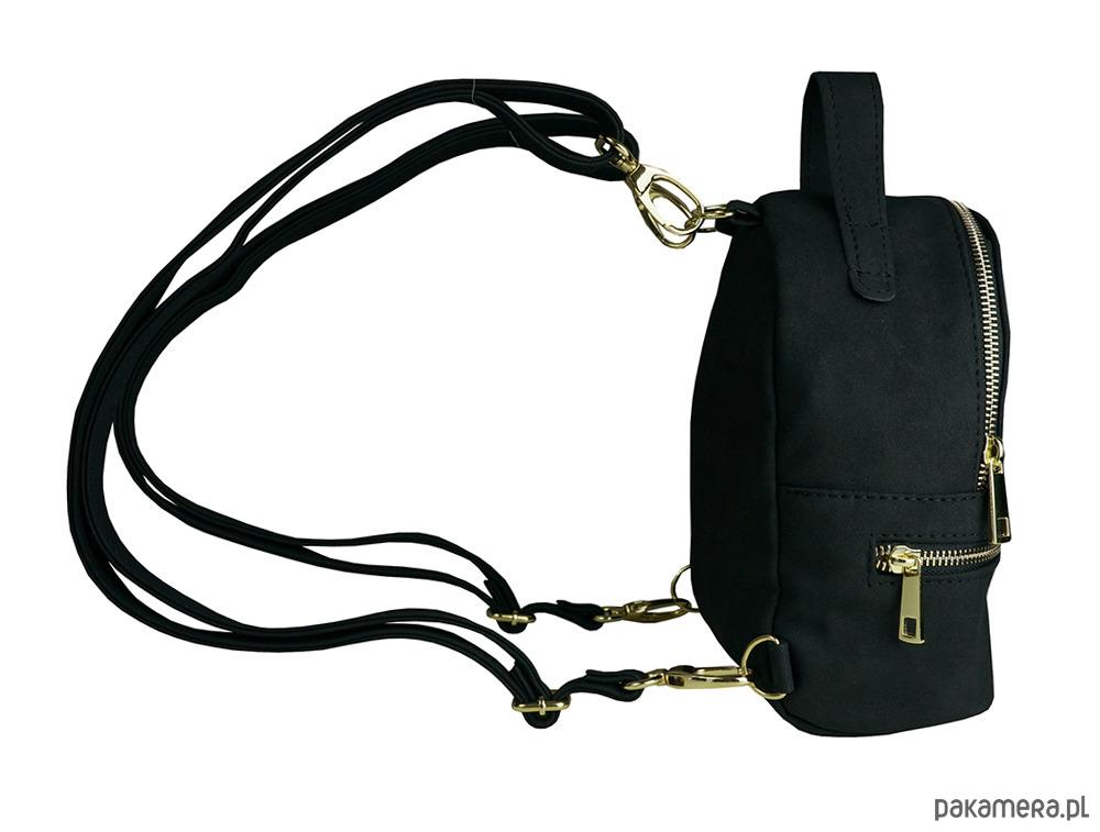 0355b2814ba05 MANZANA Mini plecak/listonoszka WYGODNYSTYL-czar - plecaki - Pakamera.pl