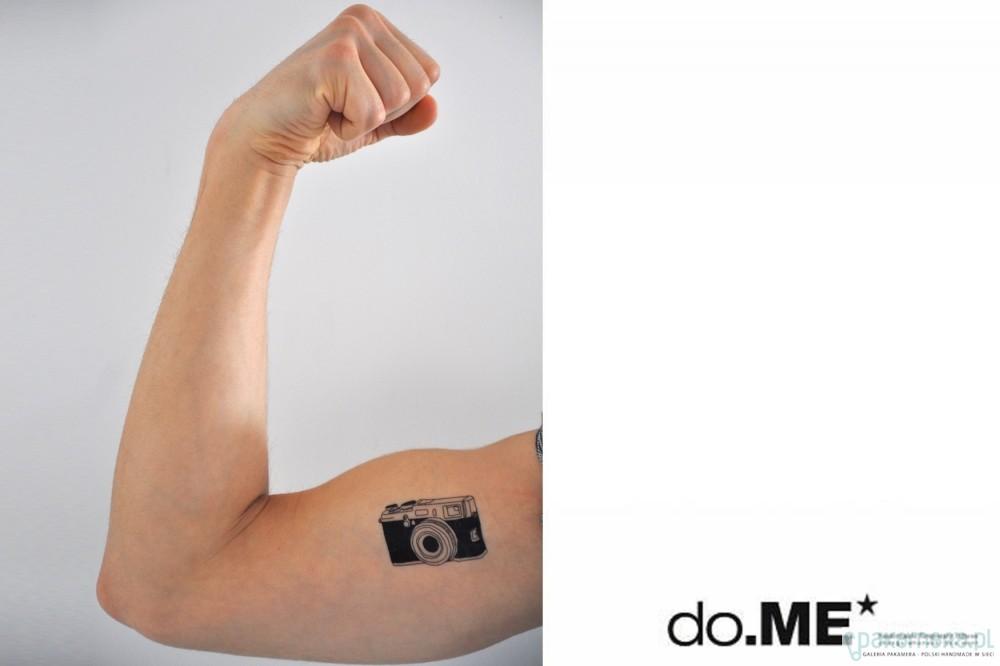 Tatuaż Zmywalny Camera 1 Tatuaże Pakamerapl