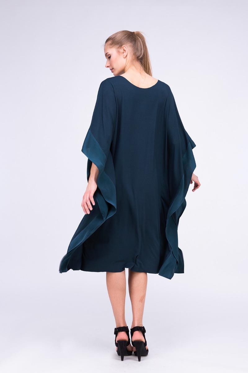 0c5826d9c800 Sukienka-tunika WINGS Blue canard - sukienki - midi - Pakamera.pl