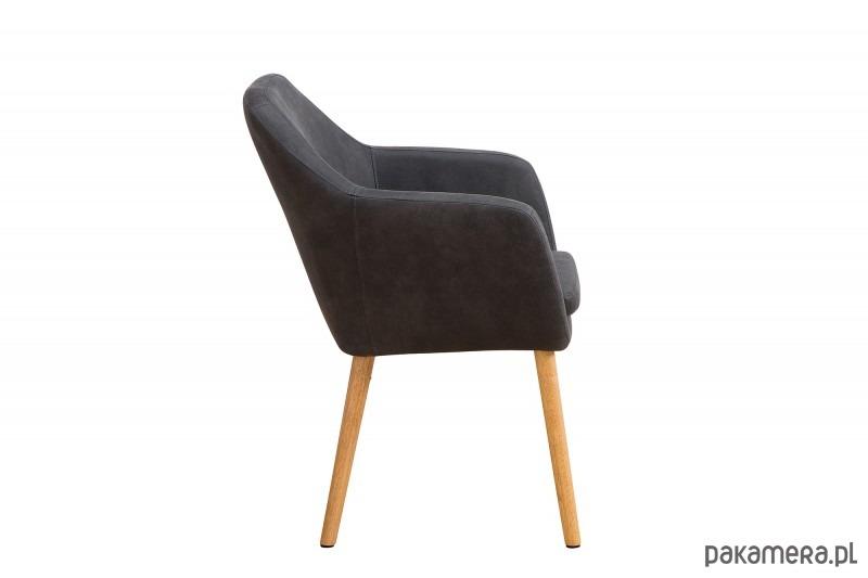 Krzesło Z Podłokietnikami Igloo Scandi Szare Meble Krzesła