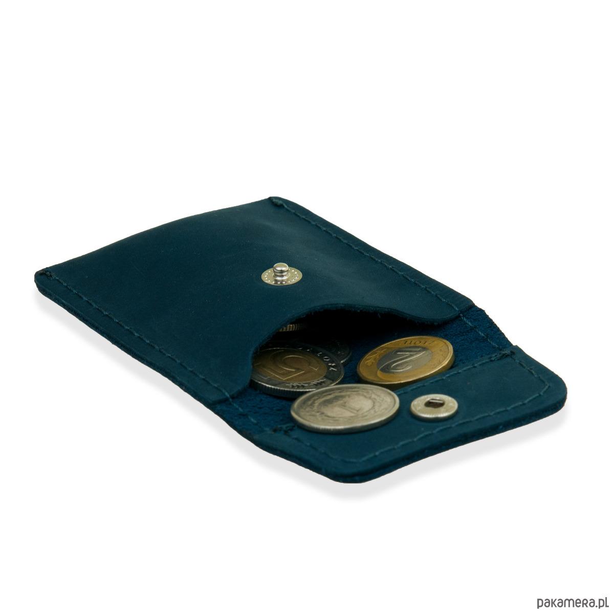 62eef2dedbf3d Skórzany portfel brodrene z bilonówka na monety - akcesoria ...