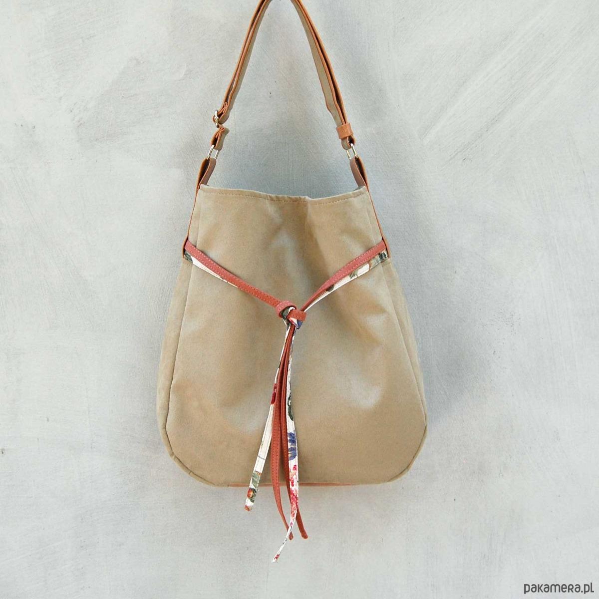 d6eabc1819989 SIMPLY BAG - duża torba worek - oliwka - torby na ramię - damskie ...