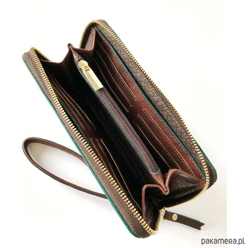 35269cad293a4 Skórzany klasyczna portfel z paskiem Skórzany klasyczna portfel z paskiem  ...
