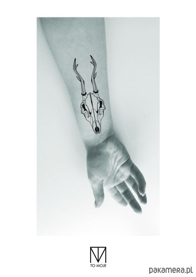 Tatuaż Czaszka Jelenia Tatuaże Pakamerapl