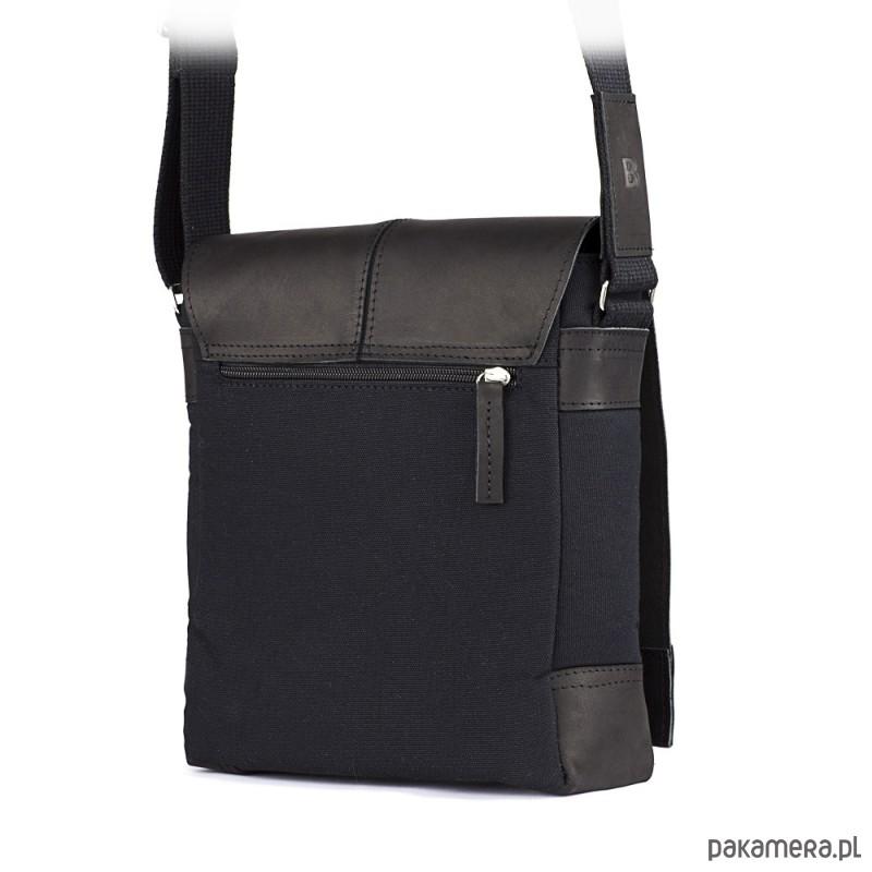 aaddea35864d6f Czarna saszetka męska na ramię - akcesoria - torby i nerki - męskie ...