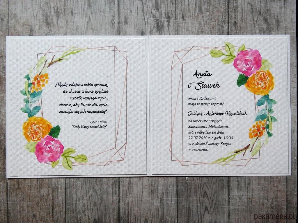 Eleganckie Zaproszenie Na ślub ślub Zaproszenia Kartki